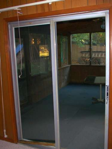 Photos of a Screened in Porches with Sliding Screen Door 375 x 500